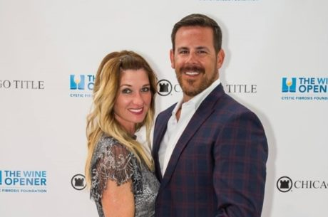 GWA President Kris Maksimovich and his wife Dana attend the Cystic Fibrosis Foundation 2017 Chicago Title Dallas Wine Opener