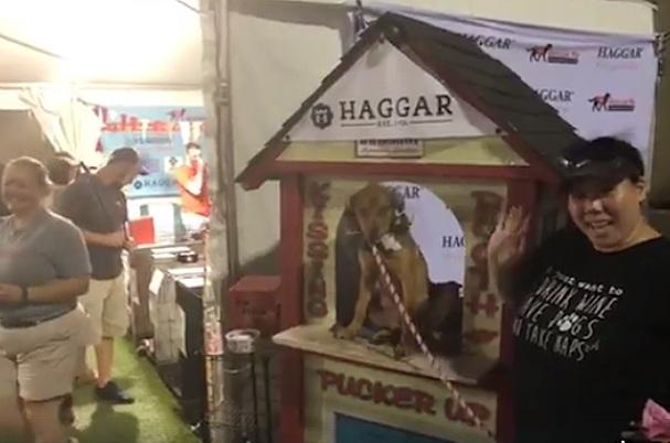 DFW Rescue Me Bark at Fair Park Kissing Booth at Texas State Fair