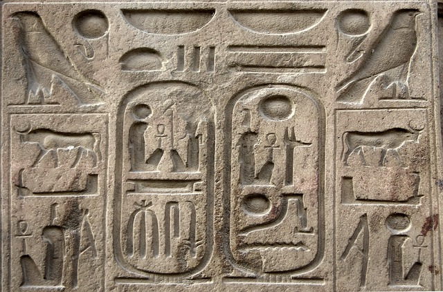Shaping your plans displays Egyptian hieroglyphics.