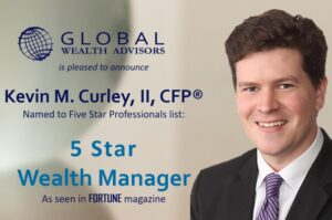 Kevin M. Curley, II of Global Wealth Advisors Honored with Five Star Wealth Manager Award